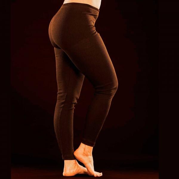 Pitkät alushousut / laamahousut (musta)